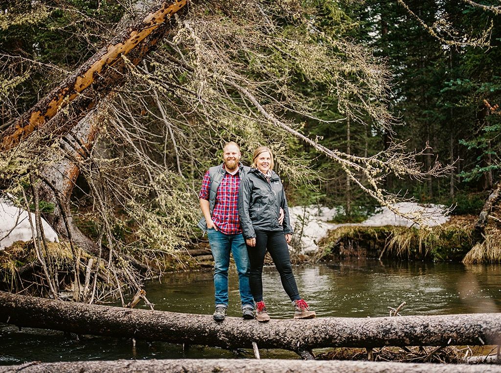 Engagement session in Colorado