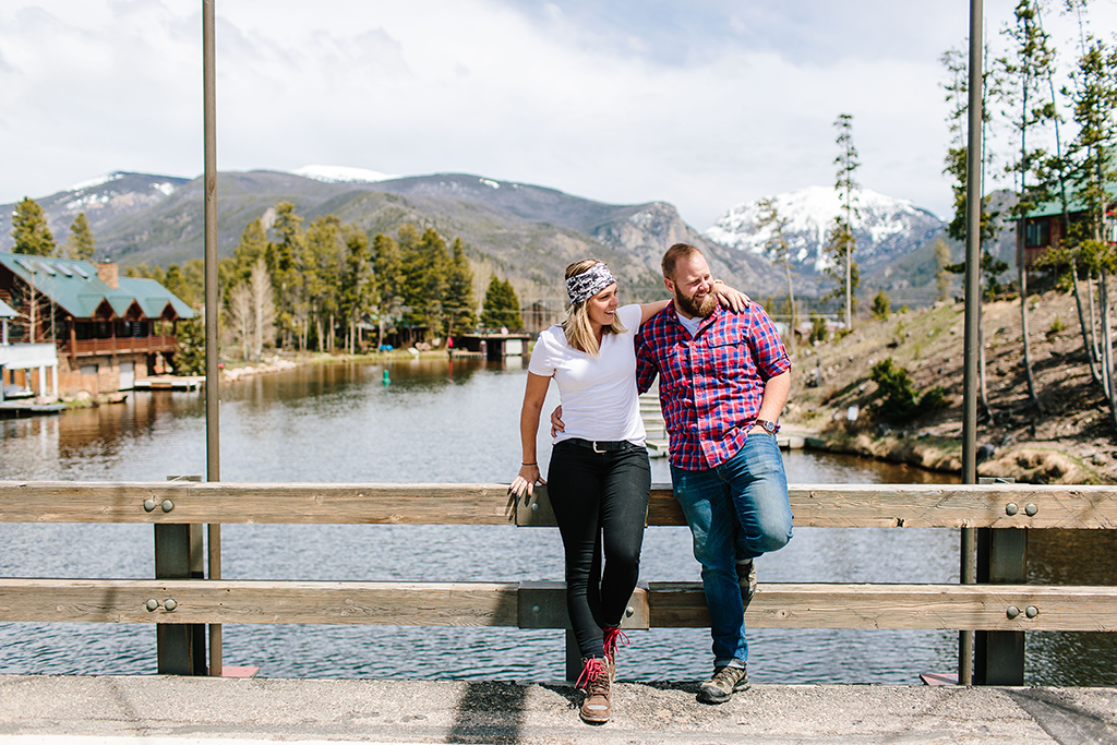 Colorado engagement, Denver engagement session