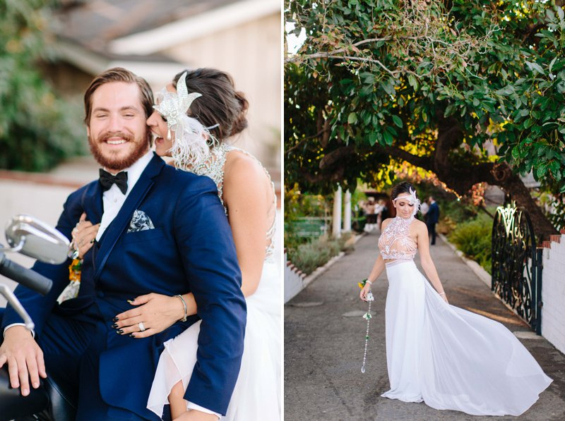 bride and groom photos beautiful Fall October wedding at the The French Estate in Orange County California