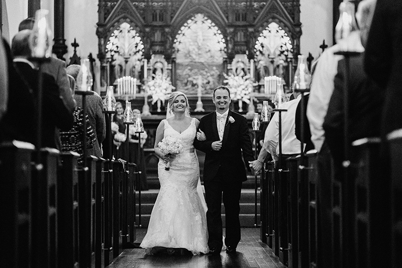 wedding at the Grace Episcopal Church