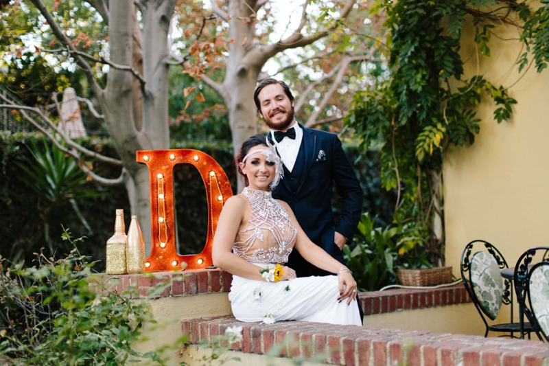 beautiful Fall October wedding at the The French Estate in Orange County California
